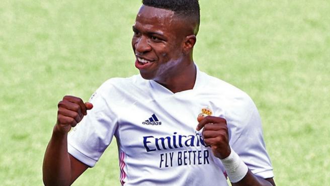 Vinicius Junior, jugador del Real Madrid.