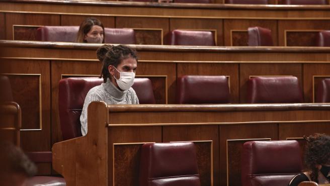 El diputado y Secretario de Organización de Podemos, Alberto Rodríguez