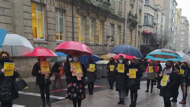 Peluqueros reclaman una bajada del IVA en Ourense