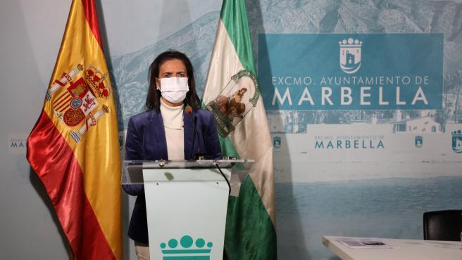 Remedios Bocanegra, concejala de Extranjeros Residentes en el Ayuntamiento de Marbella