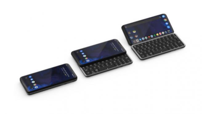 El Astro Slide 5G, un móvil que se transforma en mini portátil