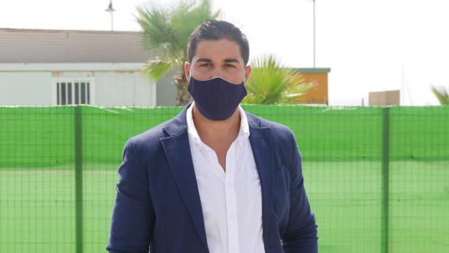 El concejal de Juventud de Adra, Antonio Sánchez