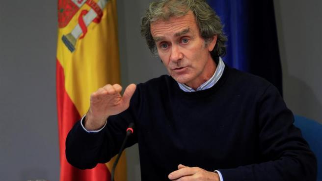 Fernando Simón comparece en rueda de prensa el jueves 21 de enero.