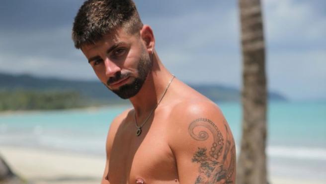 Isaac, uno de los concursantes solteros de 'La isla de las tentaciones 3'.