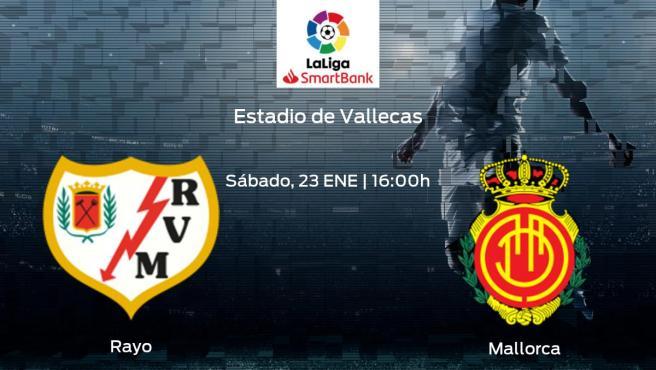 Jornada 22 de la Segunda División: previa del duelo Rayo Vallecano - Mallorca
