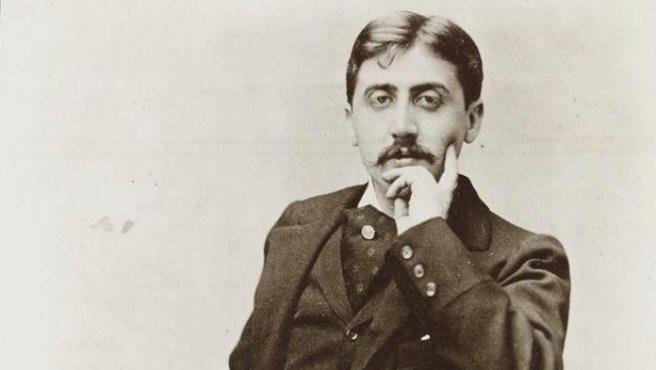 El novelista francés Marcel Proust.