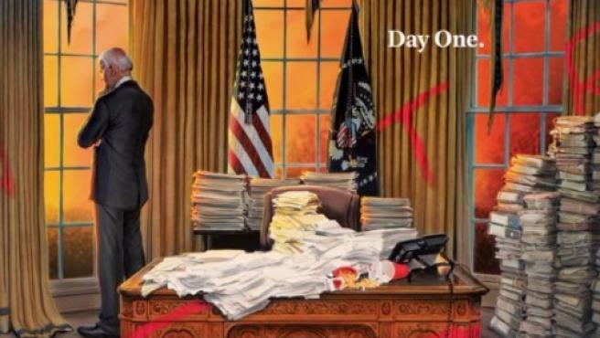 Primera portada de la revista Time de la era Biden.