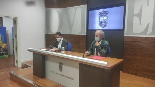Rueda de prensa de Ricardo Fernández y Wenceslao López