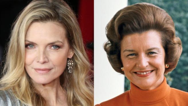 Michelle Pfeiffer y Betty Ford