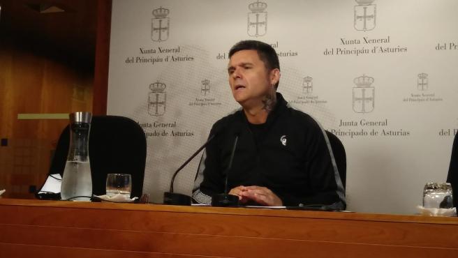 El diputado de Podemos Asturies en la Junta General, Rafael Palacios.