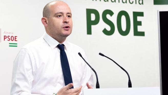 El secretario de Organización del PSOE de Almería, Antonio Martínez, en una foto de archivo.
