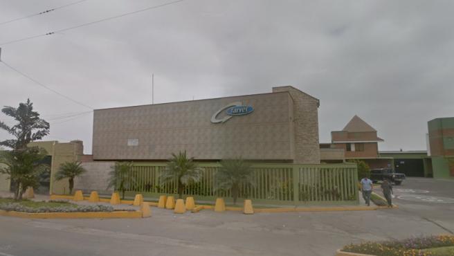 Sede de los laboratorios Farvet en Perú.
