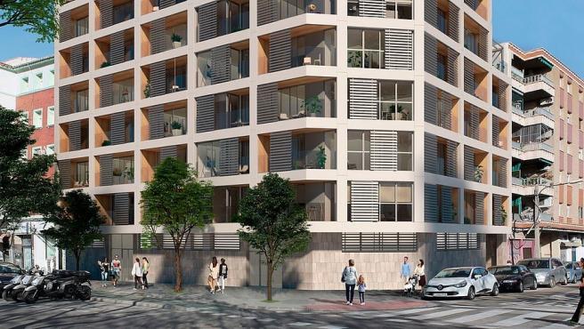 Promoción de viviendas de Avantespacia en Zaragoza