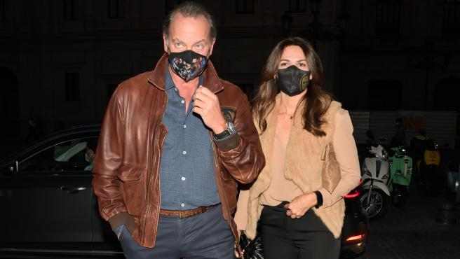Bertín Osborne y Fabiola Martínez, en una imagen reciente.