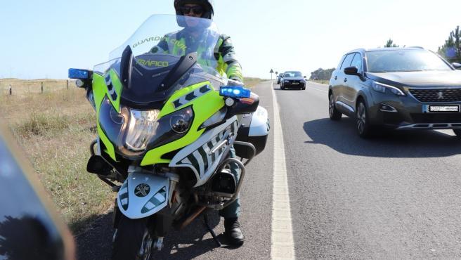 Control de la Guardia Civil de Tráfico en la provincia de A Coruña