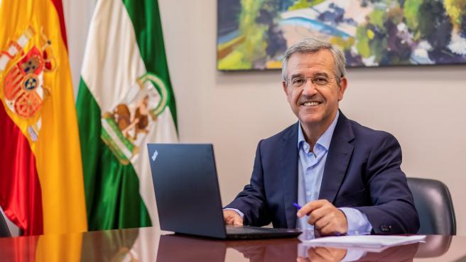 El alcalde de Estepona, José María García Urbano, en una imagen de archivo