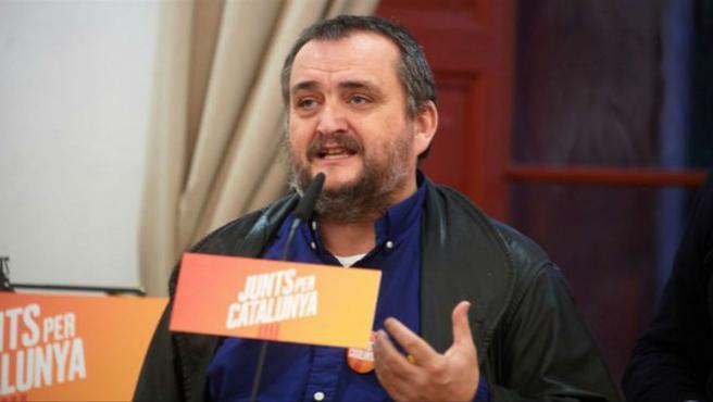 El presidente de Reagrupament y excandidato de Junts per Catalunya, Josep Sort.