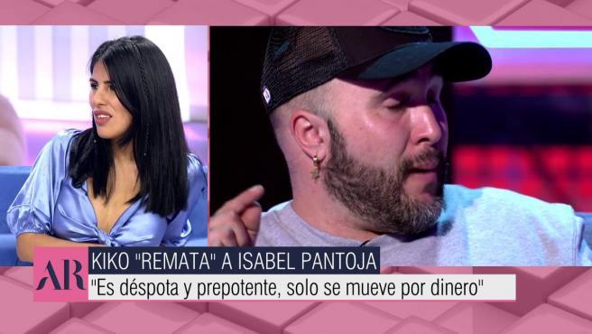 Isa Pantoja habla de su madre y su hermano en 'El programa de Ana Rosa'.