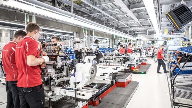 Producción de vehículos.