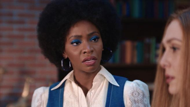 Geraldine en el tercer episodio de 'Bruja Escarlata y Visión'