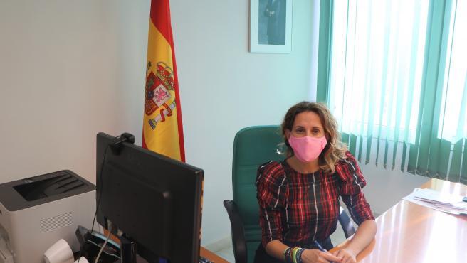 La concejala de Comercio de El Ejido, Montserrat Cervantes (Vox)