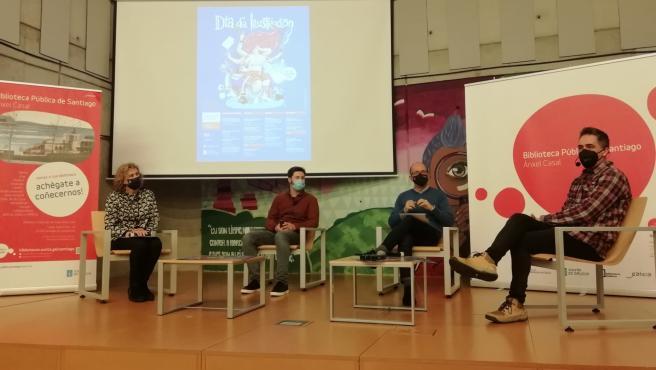 La Secretaría Xeral de Cultura y la Asociación Galega de Profesionais da Ilustración (Agpi) presenta, junto al ilustrador Manuel Cráneo, el programa del Día da Ilustración 2021.