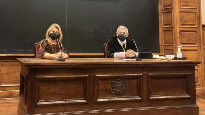 María Río y Santiago García Granda