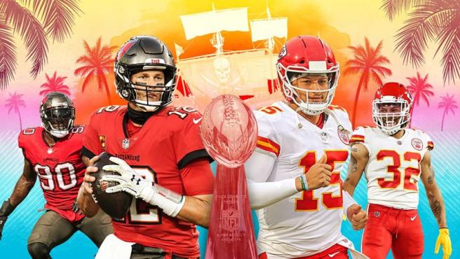 Super Bowl 2012: Tampa Bay Bucaneers vs. Kansas City Chief.