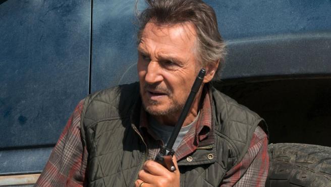 Liam Neeson en una escena de 'The Marksman (El protector)'