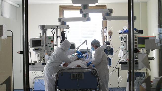 Imagen de recurso de la UCI del hospital madrileño Ramón y Cajal.