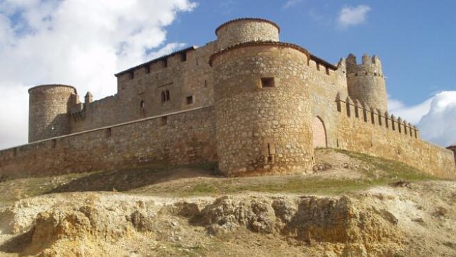 Vista del Castillo de Almenar, en Soria.