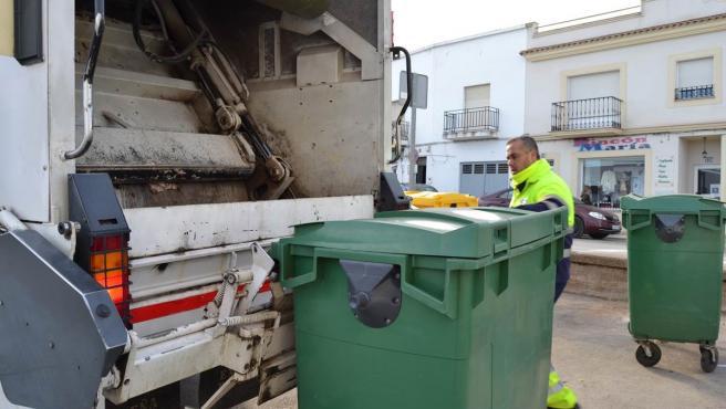 Camión de la basura