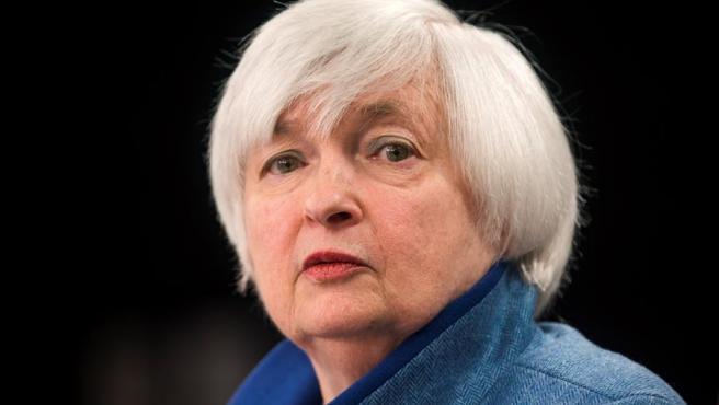 Janet Yellen, en Washington en 2016, cuando presidía la Reserva Federal de EE UU.