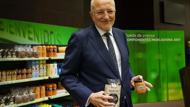 Juan Roig, presidente de Mercadona, en imagen de archivo