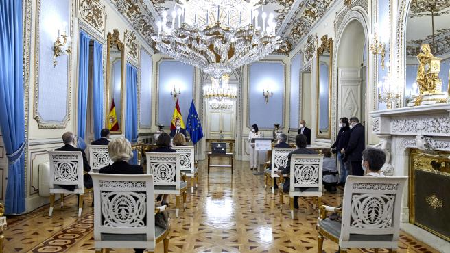 Acto de traspaso de cartera en el Ministerio de Política Territorial.