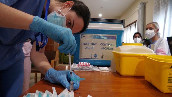 La vacuna contra el coronavirus en Euskadi