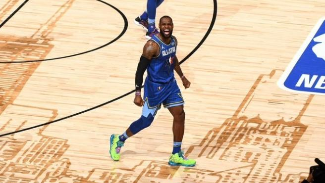 LeBron James, en el All Star