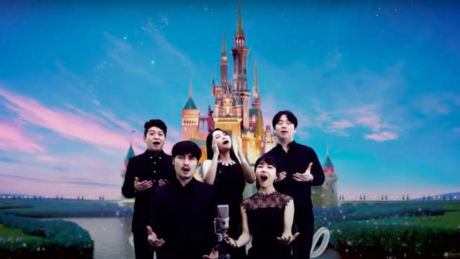 MayTree, el grupo a capela surcoreano que canta sintonías de películas y videojuegos.