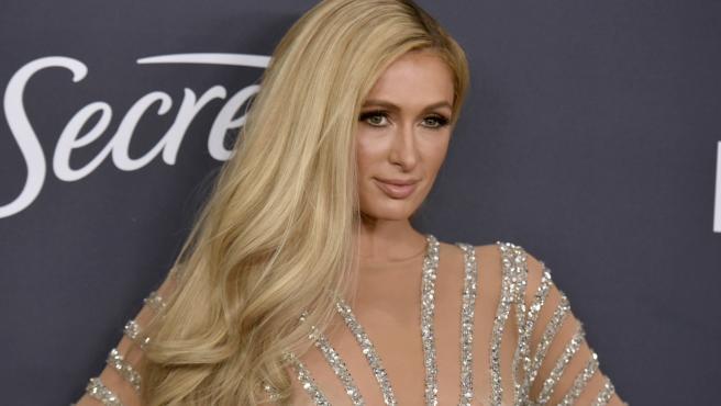 Paris Hilton, en un evento en Beverly Hills, en 2020.