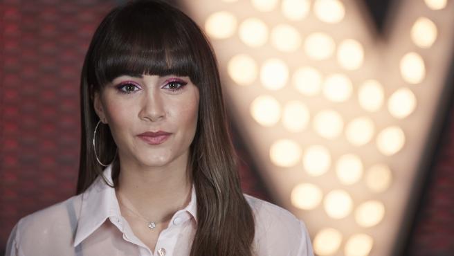La cantante Aitana Ocaña, en febrero de 2020.