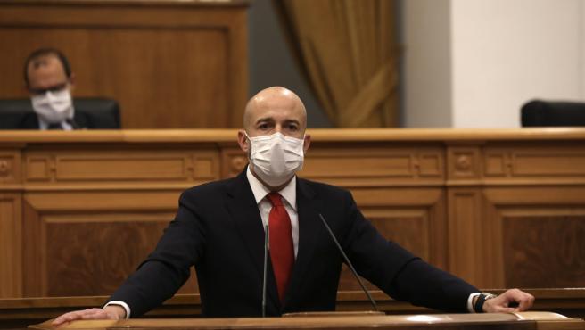 El diputado de Ciudadanos por la provincia de Toledo, David Muñoz Zapata
