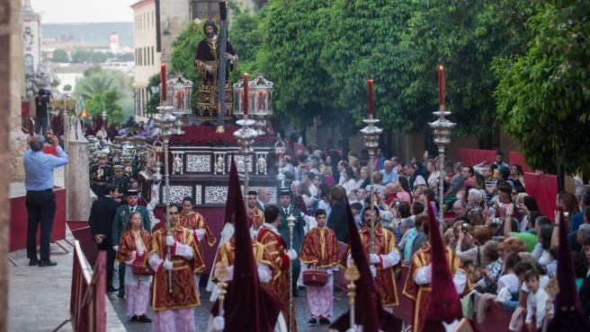 Procesión de Semana Santa en Córdoba, en una imagen de archivo.