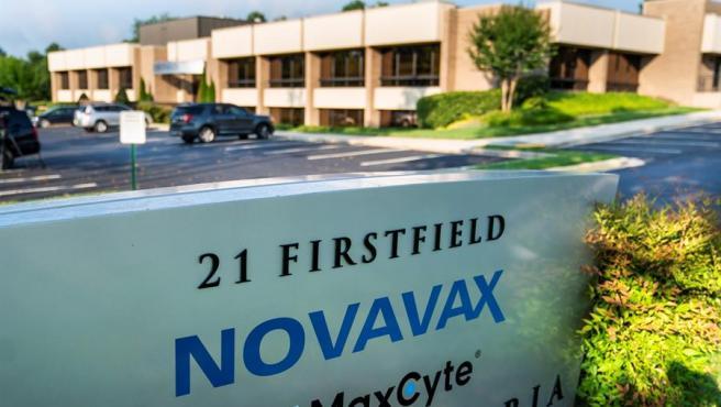 Imagen de una sede de la biotecnológica Novavax.
