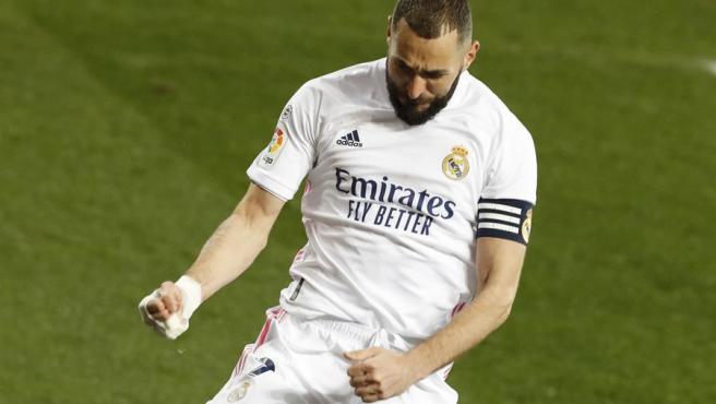 Karim Benzema, Real Madrid player.