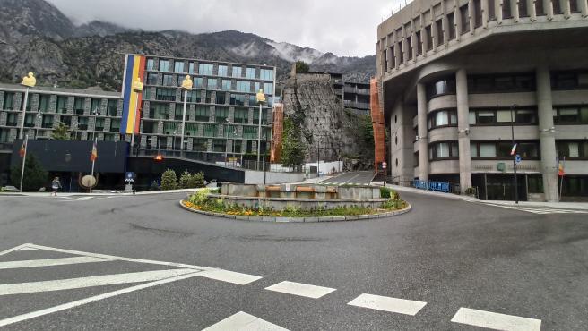Los edificios del Consell General y del Gobierno en Andorra la Vella