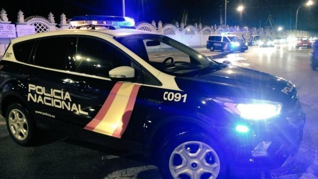 Imagen de recurso de un coche de la Policía Nacional.
