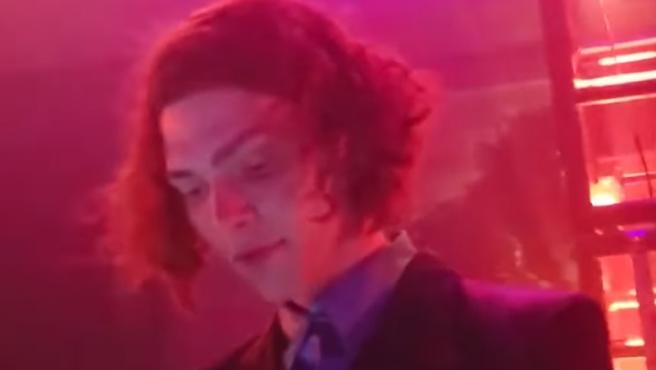 La DJ SOPHIE, en una actuación en 2018.