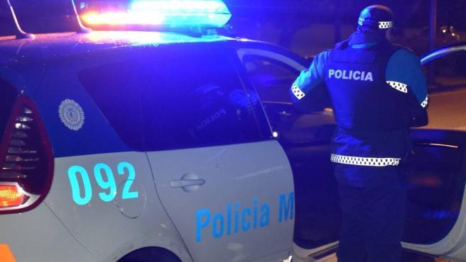 Vehículo de la Policía Municipal de Valladolid. Foto archivo.