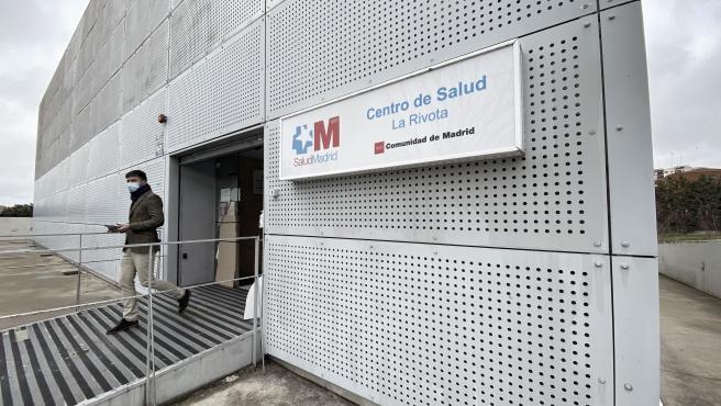 Centro de salud de La Riviota, en Alcorcón.