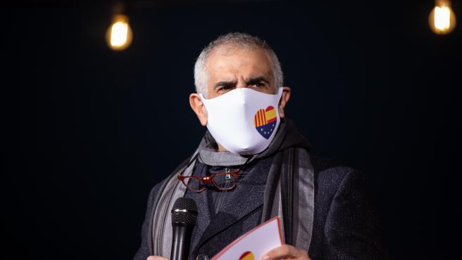 El candidato de Cs a la Presidencia de la Generalitat, Carlos Carrizosa.